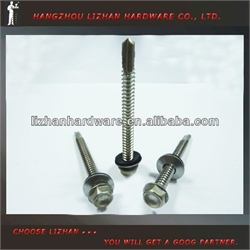 Hex Washer Head Self Drilling Screw With Boned EPDM Washer
