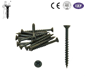 Square philips deck screw with ruspert coating
